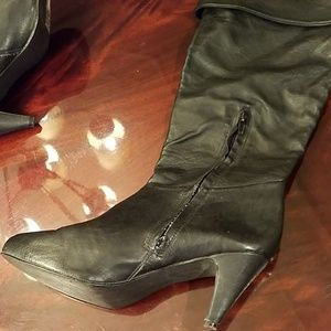 Charlotte Russe Shoes - SOLD! Charlotte Russe Fold-over Boots